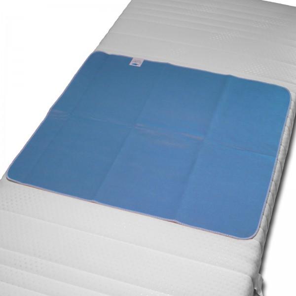 """Matratzenauflage 4-Lagig INKONTINENZ WASSERDICHT """"NÄSSESCHUTZAUFLAGE"""" 90x75 cm"""